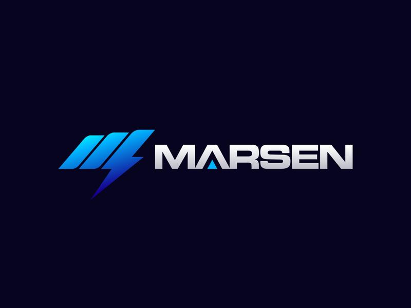 Logo design for Marsen - Battery brand