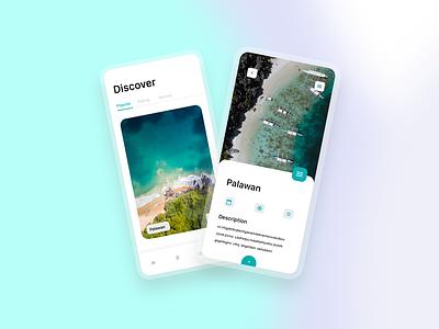 Traveling App logo illustraion typography minimal branding app web design ux ui