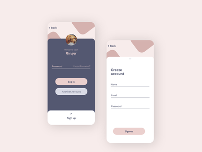 Sign up page daily 100 challenge dailyui adobe xd ux illustration design minimal app
