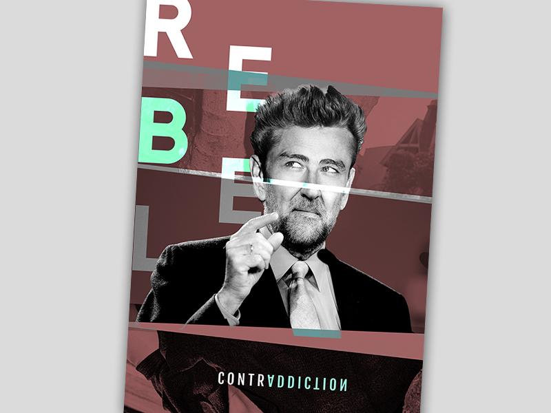 CONTRADDICTION contraddiction contradicción rebel dmcreatividad mariano rajoy james dean rebelde sin causa