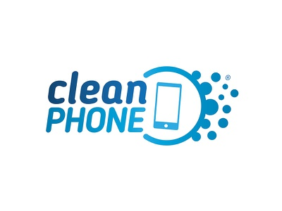 CleanPhone logo devices clean disinfect wipes cleanphone