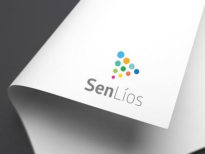 SenLíos brand escher design graphic  design conc de comunicación branding logotype logo brand senlios