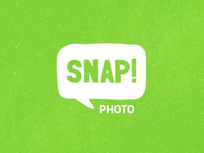 Snap Logo logo hand-drawn radioactive green
