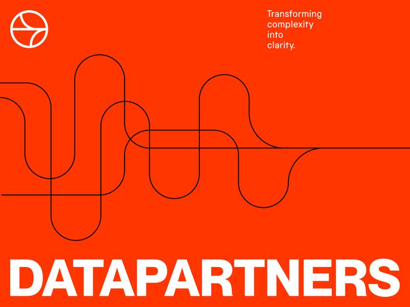 DataPartners Visual Identity System brand strategy visual identity system agency branding agency identity symbol branding logo
