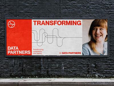 DataPartners Visual Identity System logo branding agency symbol agency visual identity system identity branding brand strategy