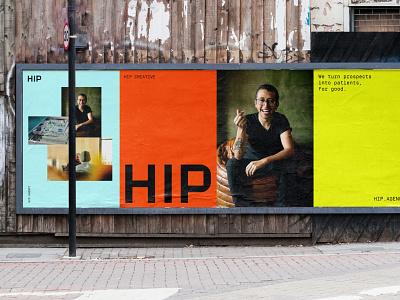 HIP Creative Visual Identity System rebrand branding identity symbol logo branding agency brand strategy