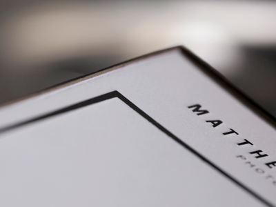 Matthew Coughlin Visual Brand
