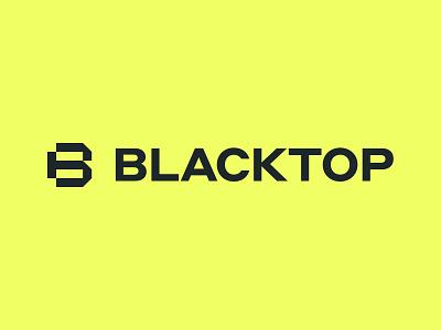 Blacktop Logo symbol branding identity simple logo brand design agency visual identity system brand strategy