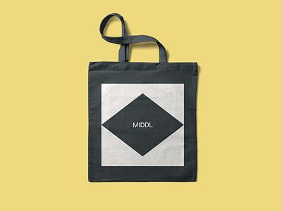 Middl Brand Identity fashion symbol logo simple identity brand design visual identity system brand strategy