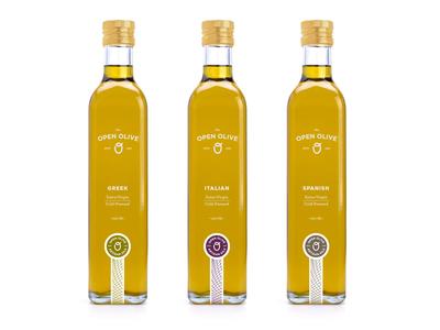 Open Olive Packaging open olive o oil packaging pattern seal greek italian spanish