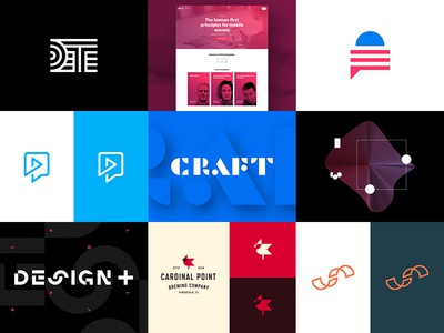 Best 9 2016 brandmark website roundup collection political startup technology branding logo