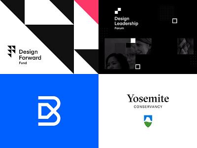 2018 Top 4 geometry simple brand brand mark visual identity system brand system design system branding logo