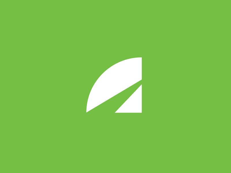 LaneShark Symbol brand identity mark branding brand simple icon logo symbol lane path fin