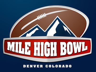 Mile High Bowl, Denver Colorado colorado denver bowl logo