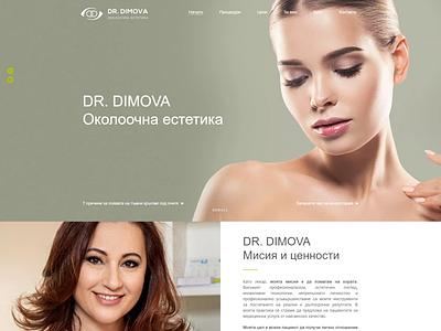 Eye Aesthetic  / Beauty / Web Design website ux ui design