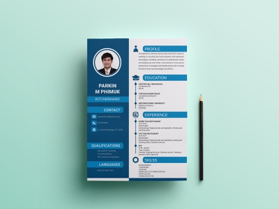 Canva Cv Designs Themes Templates And Downloadable Graphic Elements On Dribbble