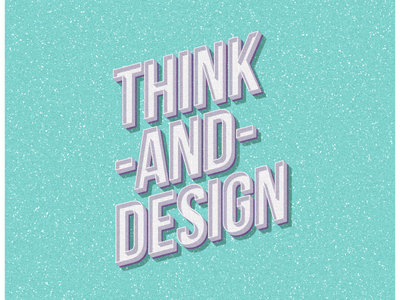 Retro Text illustration design typography effect text