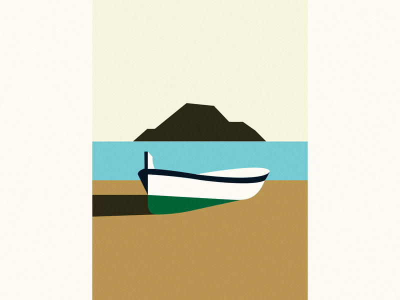 Boat vector illustration