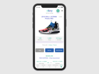 Ebay Mobile App - revised mobile seller experience