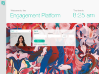 Sign In screen - Engagement Platform