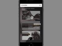 Cowon Prototype - Test_1A
