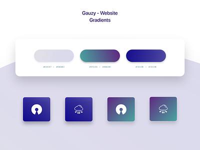 Gauzy Platform - Website - UX/UI Design & Prototype gradient design gradients gradient