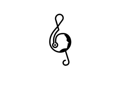 Music Production Company Symbol headphone musicicon icon logodesign branding production logo music
