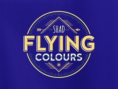 Flying Colour [John Stockton Edition] shad t-shirt apparel clothing logo tees