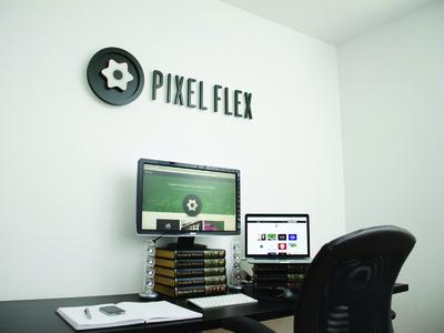 My Workspace workspace sign branding studio office