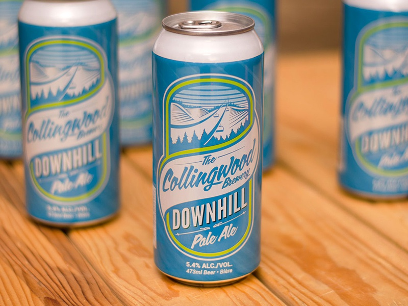 The Collingwood Brewery package design branding beer beer can collingwood brewery pale ale package design