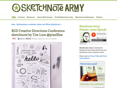 Sketchnote Army sketchnotearmy sketch freelancer design graphicdesign creativedirections pixelflex doodles sketchnotes