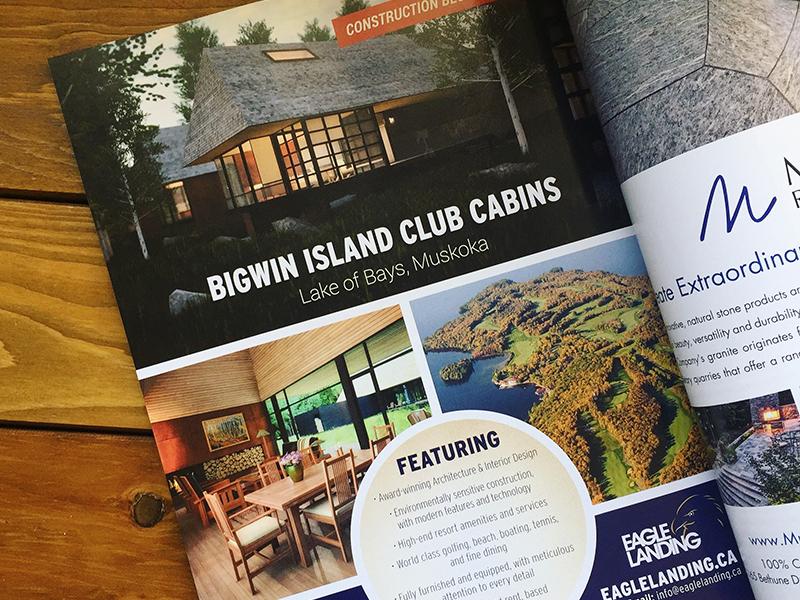 Bigwin Island Magazine Ad print ad graphic design print magazine indesign advertisement
