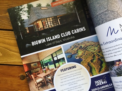 Bigwin Island Magazine Ad print ad graphic design print magazine indesign advertisement