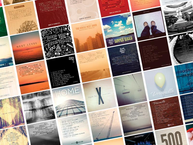Mixtape Covers album artwork album covers playlist music graphicdesign