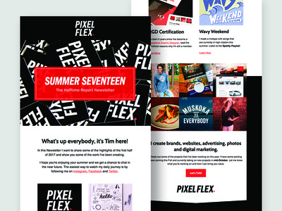 Summer Seventeen Newsletter