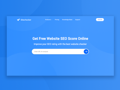 Sitechecker | Brand New Home Page