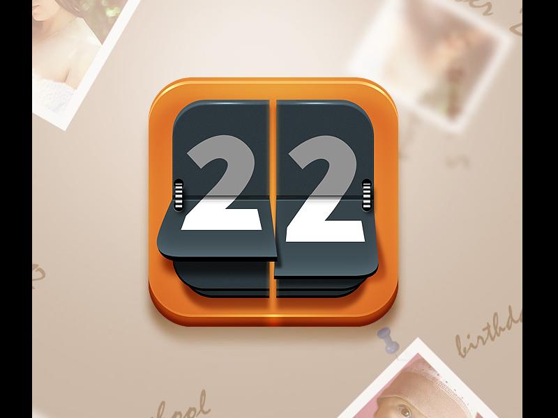 22days 22 days icon ios ios icon mobile icon northwood event countdown