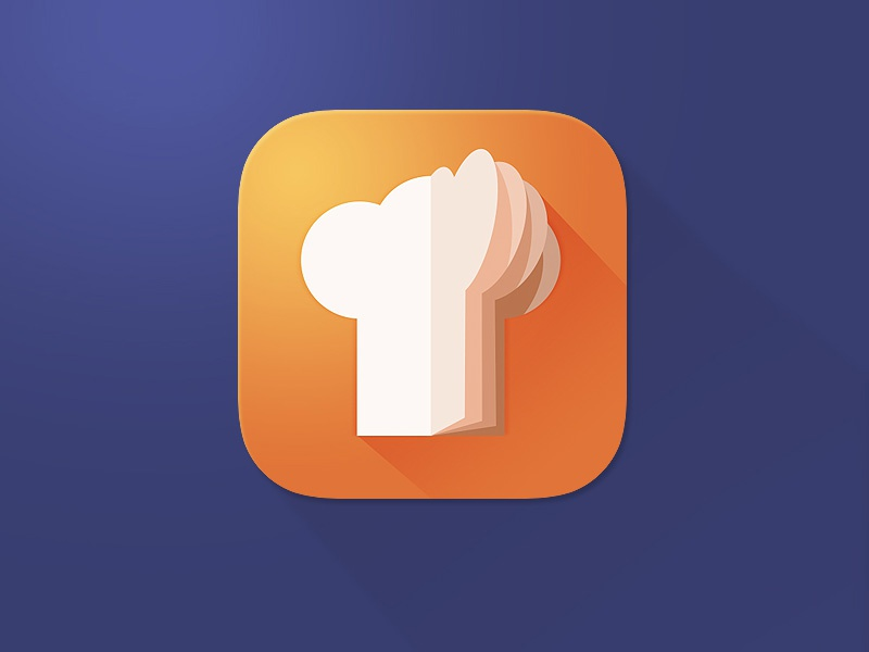 """Meal Planner """"Cookbook"""" meal planner cookbook icon ios icon mobile icon"""