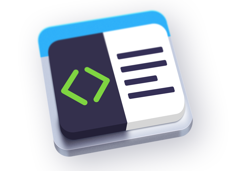 Minuetto code highlight syntax editor markdown detailed mac os osx icon minuetto