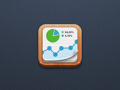 Statistics App icon ios icon ios icon mobile icon app