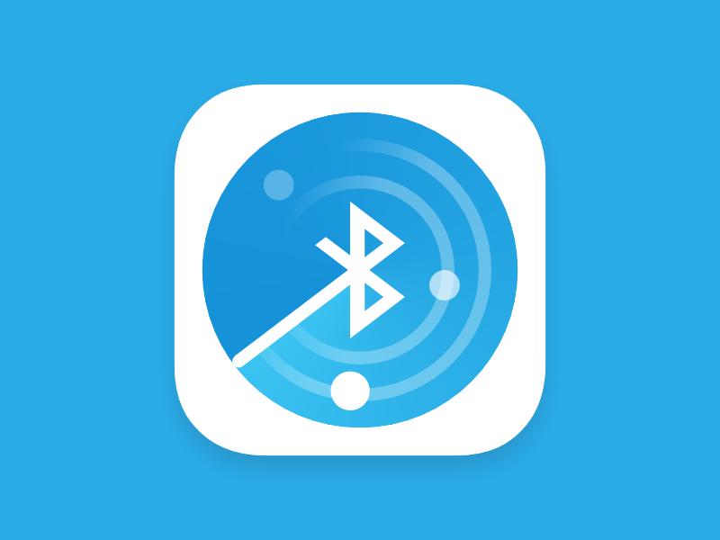 Bluetooth Radar android icon ios icon northwood signal search find blue android icon ios radar bluetooth
