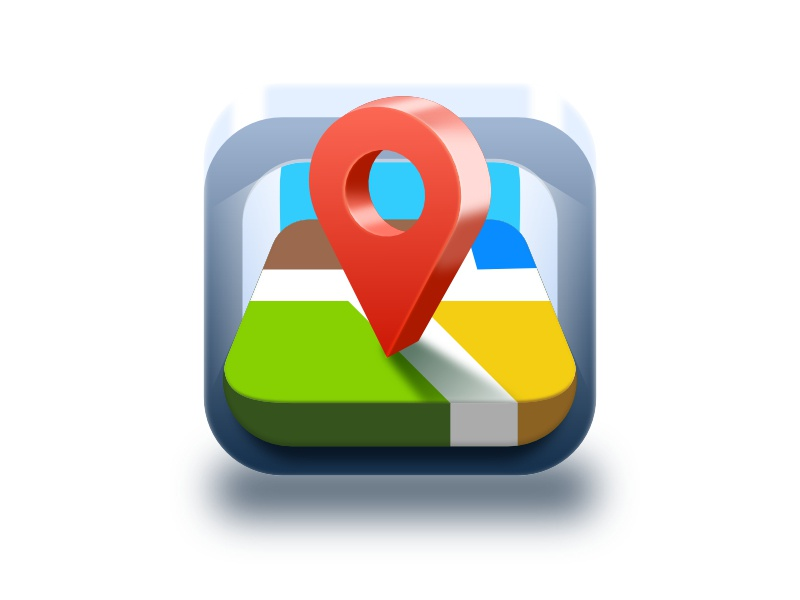 Safety Map 3d detiled android location maps frame metal pin map icon ios northwood