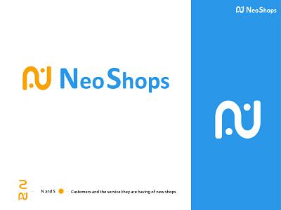 Neo Shops - eCommerce logo design ecommerce design brand identity logodesign ecommerce logo