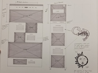 Classic Wireframe Structure