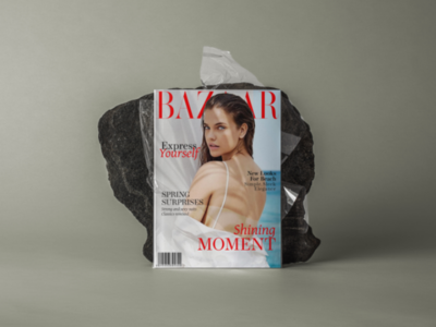 Magazine Cover for BAZAAR magazine magazine coverdesign