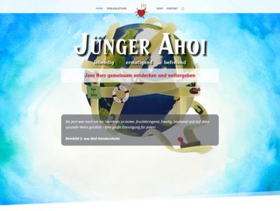 J nger Ahoi homepage
