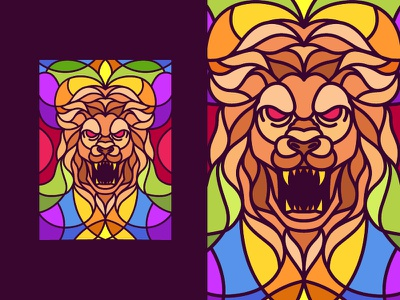 Lion Roar animal apparel clothing merchandise vector illustration lion vector