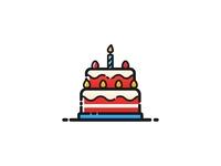 Birthday Cake - 13 Oct is mine