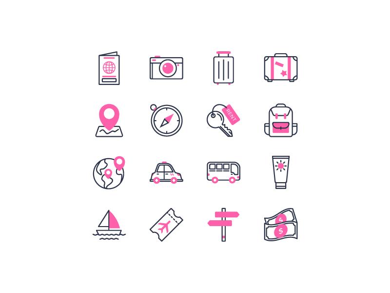 Travelling iconfinder holiday travelling travel icon set icon