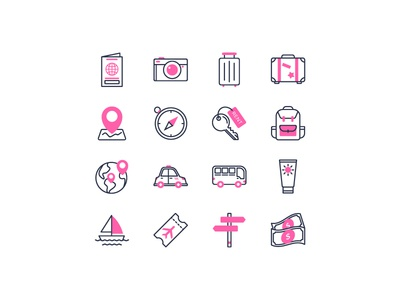Travelling iconfinder holiday travelling travel icon set icon
